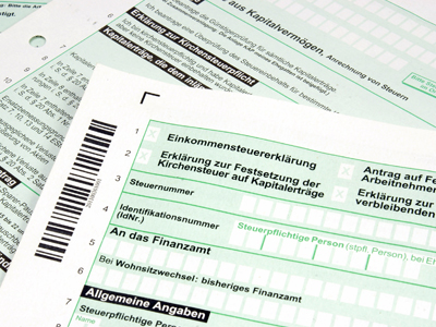 Deadline for tax declaration in Germany