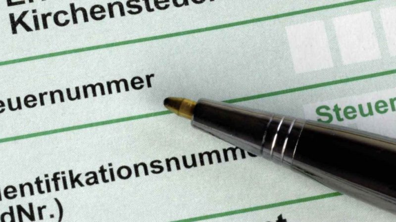 Request my German Tax Id Number Online